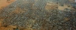 Photo: BBC. Dhadhaab Refugee Camp.  www.kismaayodaily.com - your gateway of Somali news around the world.