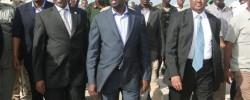 Photo: Radio Mogadishu. Somali President Sharif, Speaker of the Parliament Sharif and Prime Minister Abdiwali. Get Somali news around the world at www.kismaayodaily.com