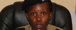 Police Spokesperson Judith Nabakoba. Photo: Newvision. Get Easter African news around the world at www.kismaayodaily.com