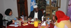Photo: Radiom Mogadisho. Popular and People's president. Get Domali news around the world at www.kismaayodaily.com