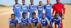 Photo: Radio Mogadisho. www.kismaayodaily.com - your gateway of Somali sports around the world.