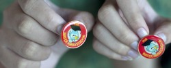 Children show off &#039;water badges&#039; after visiting Singapore&#039;s water-recycling complex [Kris LeBoutillier/ Al Jazeera]. Where are Africa&#039;s Water Ambassadors? www.kismaayodaily.com - your gateway of social issue news that matters.