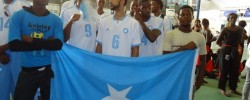 Photo: Radio Mogadisho. Somali sport is back. www.kismaayodaily.com - your gateway of Somali news around the world
