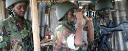 Kenya Defence Forces (KDF) in Somalia. The UN security council extended the mandate of the African Union Mission in Somalia by a year. Photo/FILE