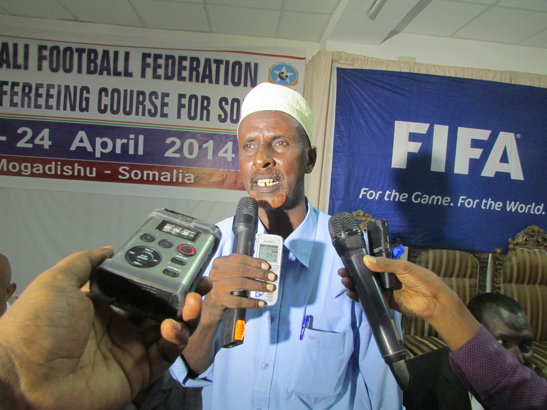 Photo: SSF/DFF-MD  www.kismaayodaily.com - your gate way of Somali/Djibouti Sports news around the world