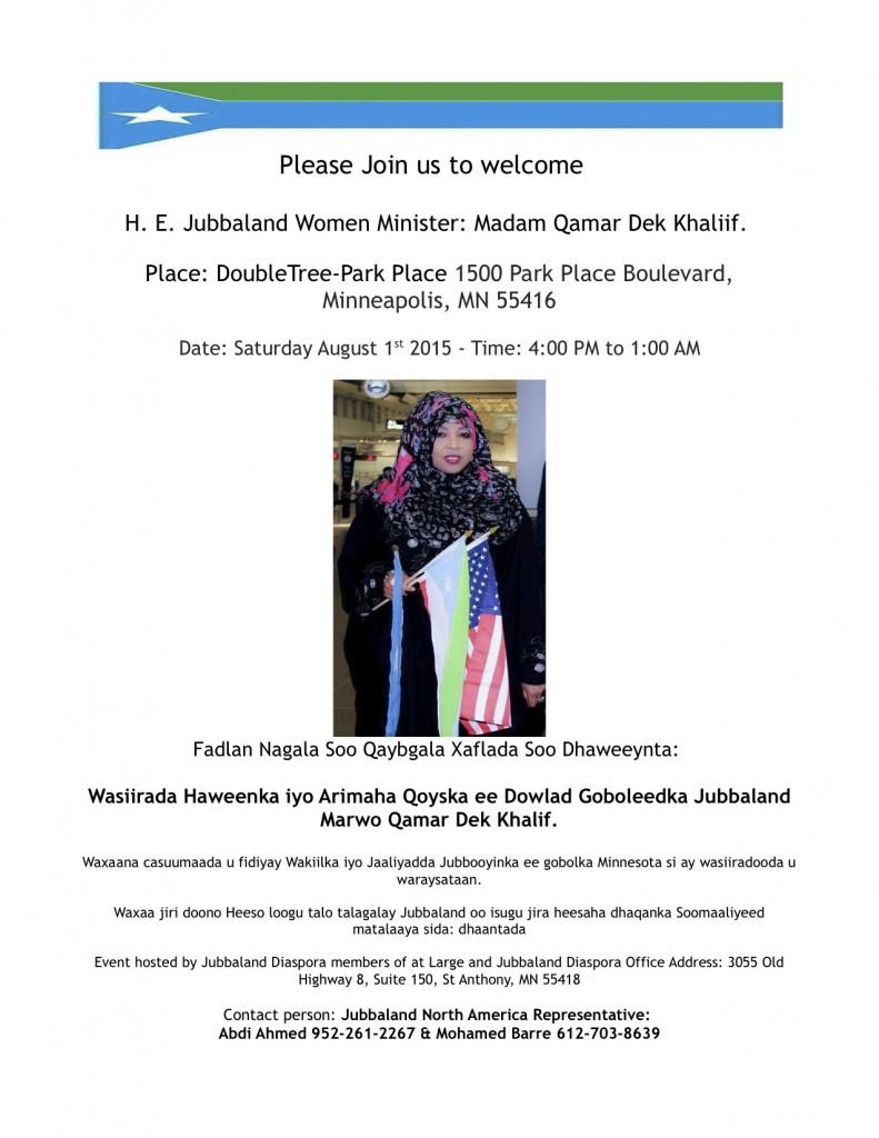 Photo: Jubbaland Diaspora Association/Mbarre. www.kismaayodaily.com - your gateway of Jubbaland/Somalia news around the world.