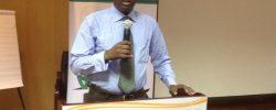 Somali FA director of communications Shafi'i Mohyaddin Abokar  PHOTO   SFF.  www.kismaayodaily.com - your gate way of Somali/Djibouti Sports news around the world
