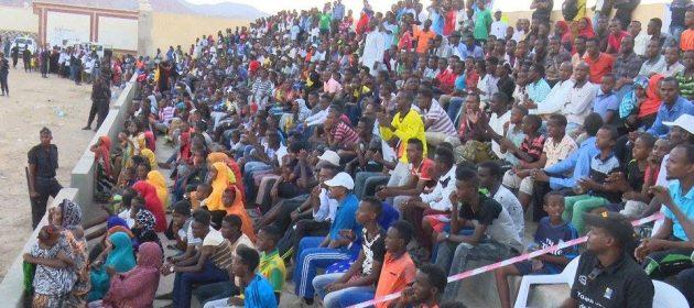 Djibouti-Fans PHOTO | by FA-Media.  www.kismaayodaily.com - your gate way of Somali/Djibouti Sports news around the world