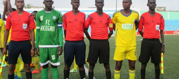 SFF Refs. PHOTO | by CECAFA Media Committee   www.kismaayodaily.com - your gate way of Somali/Djibouti Sports news around the world,