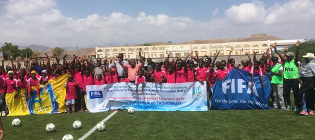 Young girls in far regions in Djibouti benefit from FIFA grassroots program  PHOTO | by CECAFA Media Committee  www.kismaayodaily.com - your gate way of Somali/Djibouti Sports news around the world,